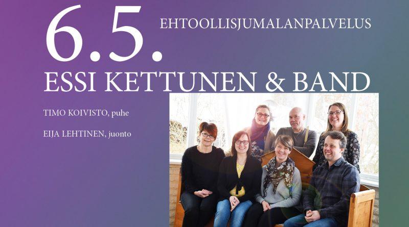 Essi Kettunen & band 6.5.